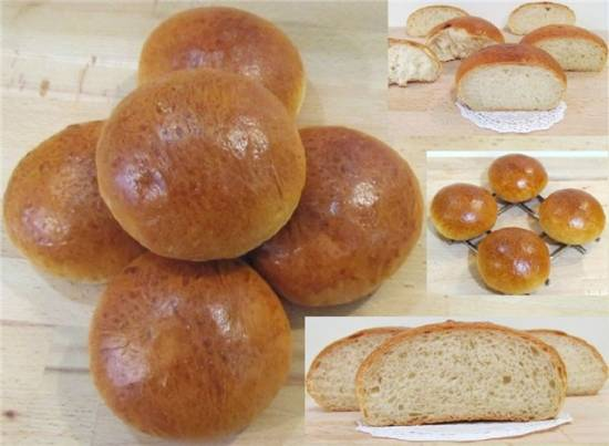 Булочки французские (French bread rolls to die for)