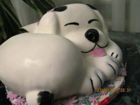 """Торт """"Спящая собака"""" 3Д (мастер-класс)"""
