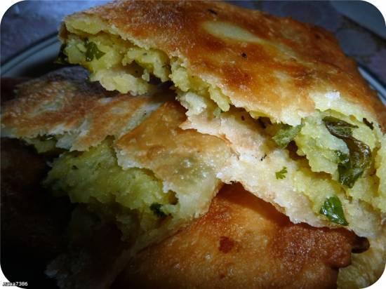 Пирожки жареные Самосы (индийские пирожки SAMOSA)