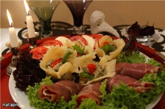 """Итальянская закуска  """"Antipasto alla casalinga"""""""