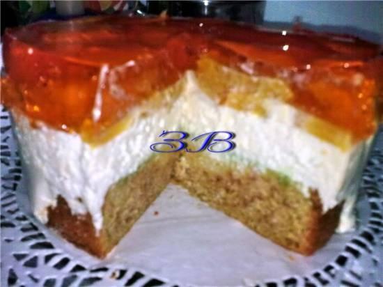 Торт Апельсиновое чудо