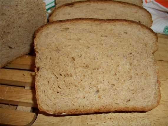 Хлеб цельнозерновой  гречишный