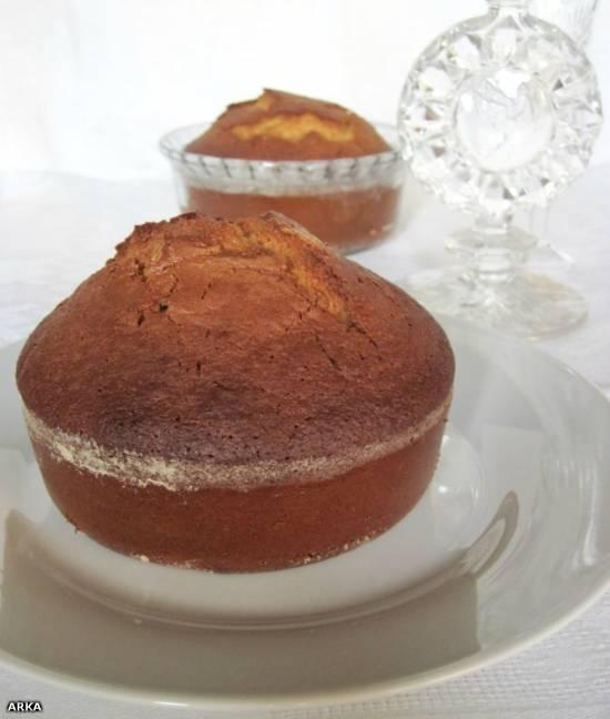 Миндальный пирог с медом