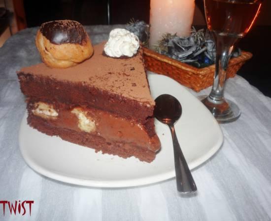 Торт Шоколадный соблазн
