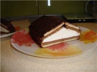 Тортик-десерт Домик