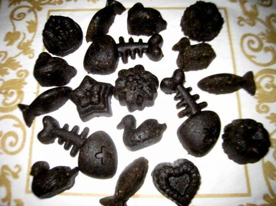 Халва кунжутная черная (тахинная)