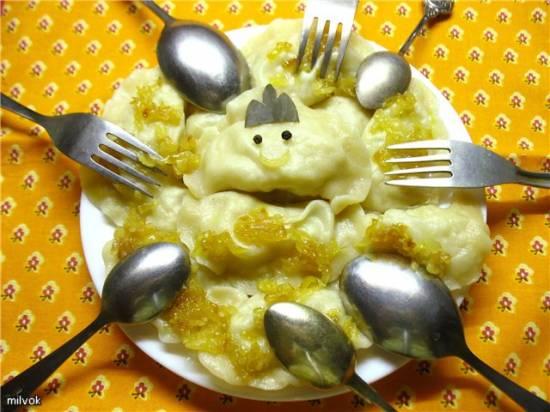 Вареники с картошкой Вареники с картошкой