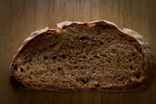 Хлеб с кардамоном и черносливом (духовка)