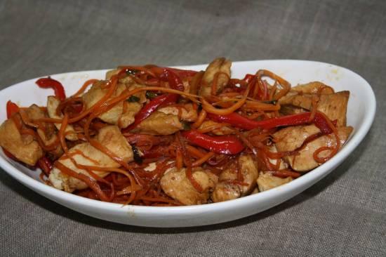 Курица по-китайский