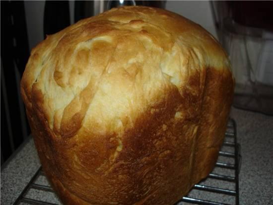 Очень вкусный белый хлеб (хлебопечка)