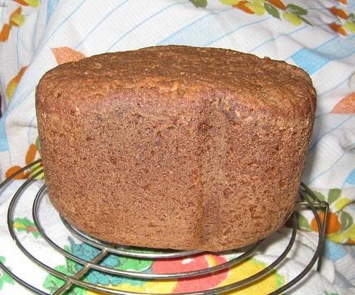 Хлеб пшенично-ржаной на солодовой закваске