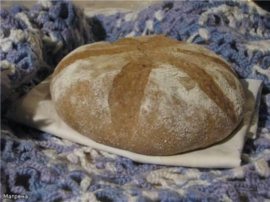 Пшеничный цельнозерновой хлеб