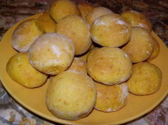 Печенье тыквенно-кокосовое