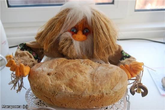 Хлеб цельнозерновой с пророщеной пшеницей