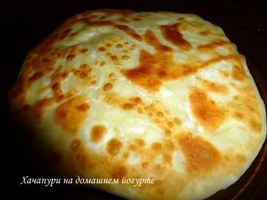 Тапамцвари: запеканка с сыром на кукурузной крупе Хачапури грузинское (г.Телави)