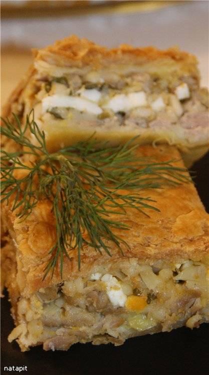 Греческий мясной пирог