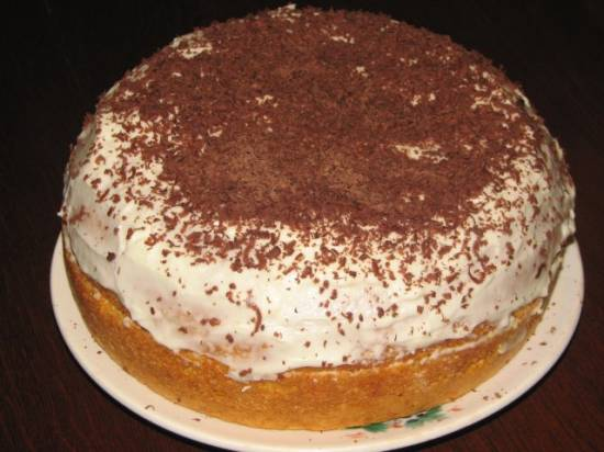 Торт морковный (Liberton LMC 03-01)