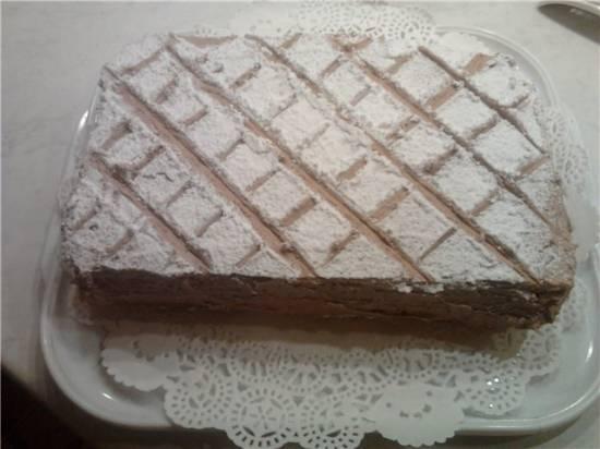 Торт миндально-кремовый Идеал