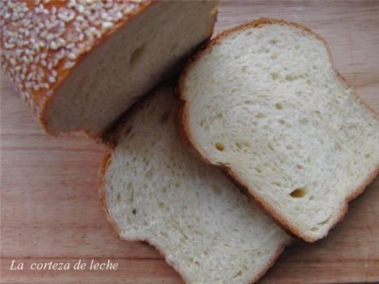 Молочный хлеб La corteza de leche (духовка)