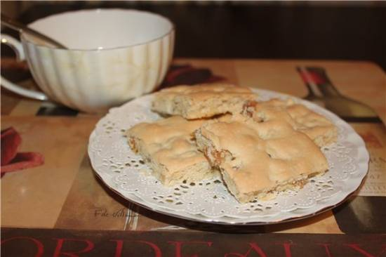 Безглютеновое печенье с изюмом и орехами