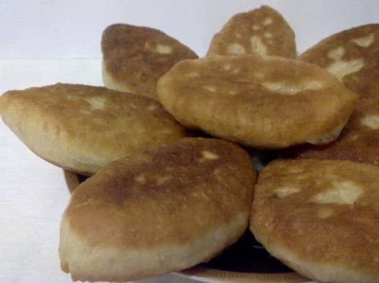 Пирожки с капустой мизуна и сыром Московские пирожки с капустой