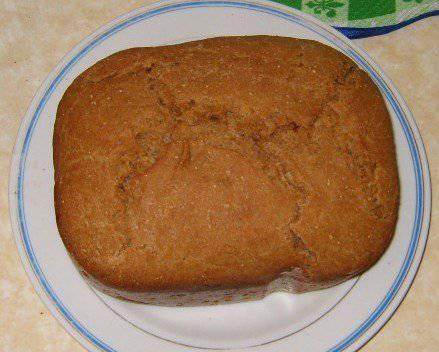 Ржаной хлеб на квасе в хлебопечке