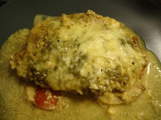 Тилапия в горчично-медовом маринаде