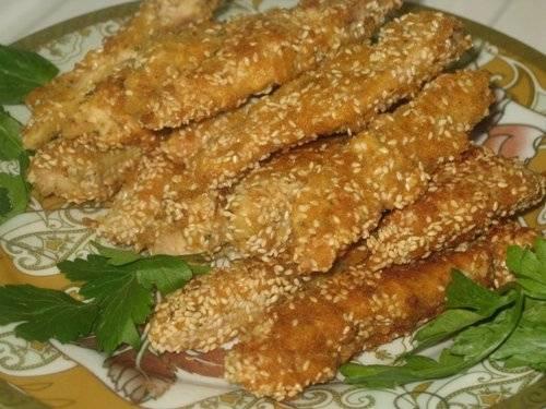 Куриные палочки По-шанхайски