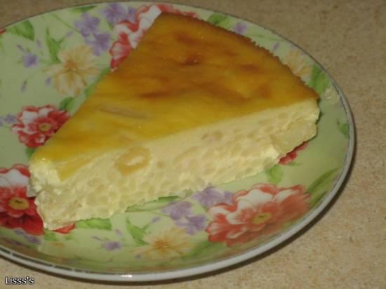 Пудинг рисовый с ананасами (Maida Heatter)