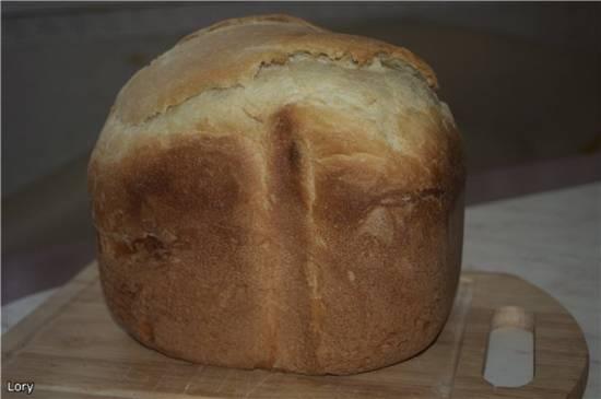 Хлеб имбирный с ванилью (хлебопечь)