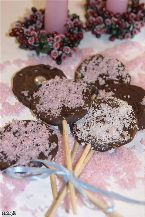 Шоколадные Лоллипопы