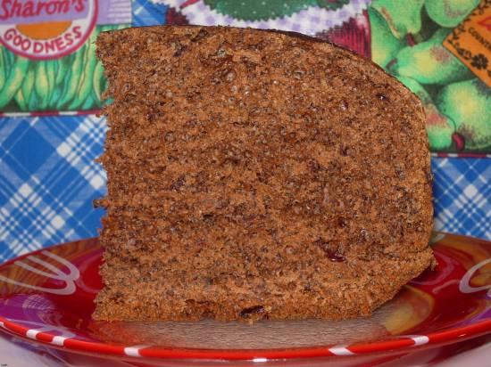Шоколадный хлеб  в хлебопечке