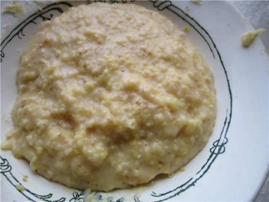 Каша молочная кукурузно-пшеничная (мультиварка Либертон LMC 03-01)