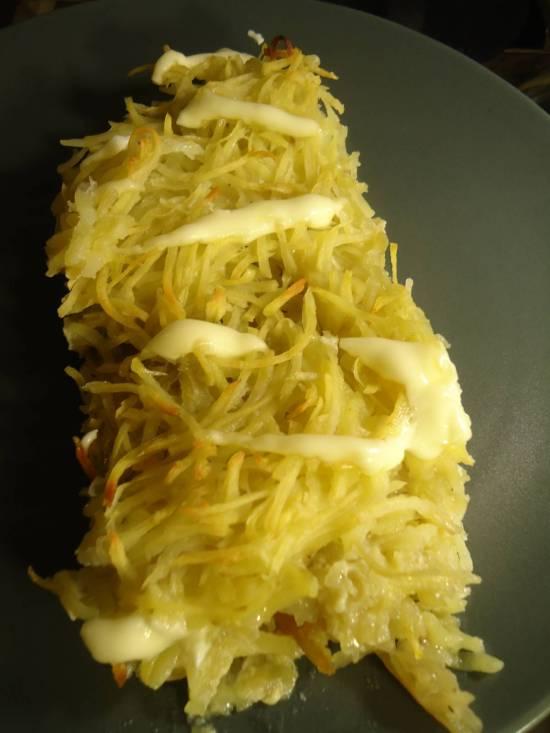 Тилапия в картофельной корочке Тилапия в картофельной корочке