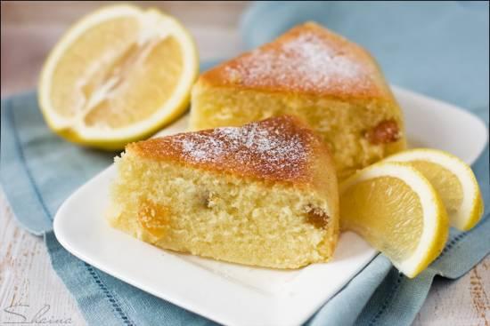 Лимонные (апельсиновые) кексы на сыворотке