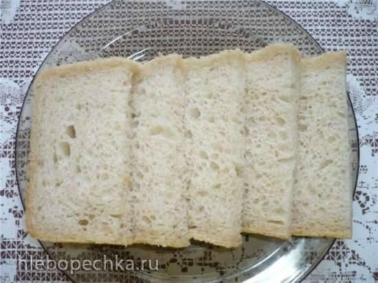 Рисовый хлеб на пшеничной закваске (в духовке)