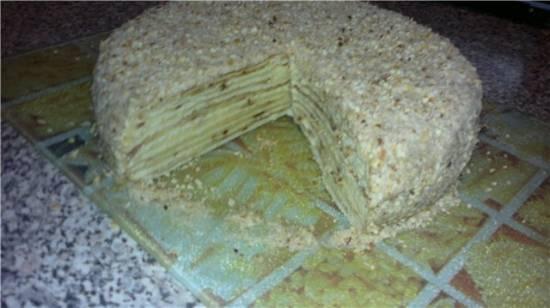 """Торт """"На сковороде"""""""