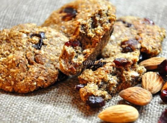 Овсяно-миндальное печенье