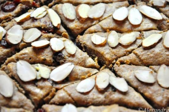 Печенье постное с миндалем