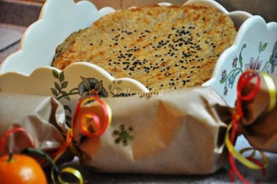 Цельнозерновые тонкие лепешки с сыром
