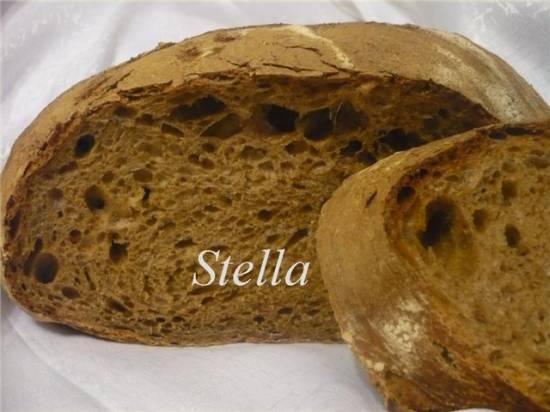 Хлеб молочный с солодом (на закваске).