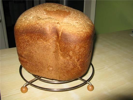 Хлеб ржано-пшеничный 50/50 (хлебопечка)