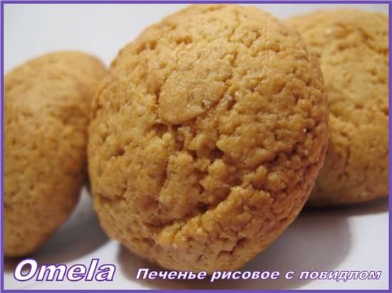 Печенье рисовое с повидлом