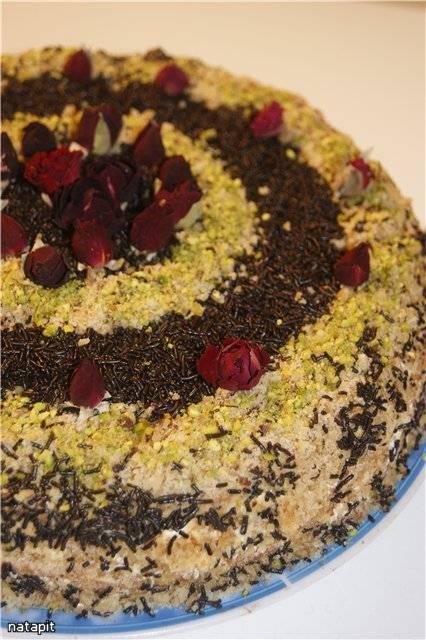 Торт Сметанник для Анны