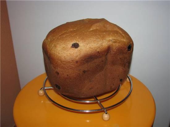 Кофейный хлеб к чаю (хлебопечка)