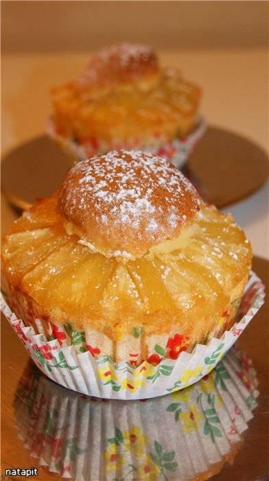 Бисквиты ананасовые миндальные