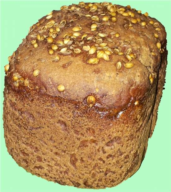 Ароматный хлеб в духовке (по мотивам хлебобулочной смеси «Пудовъ»)