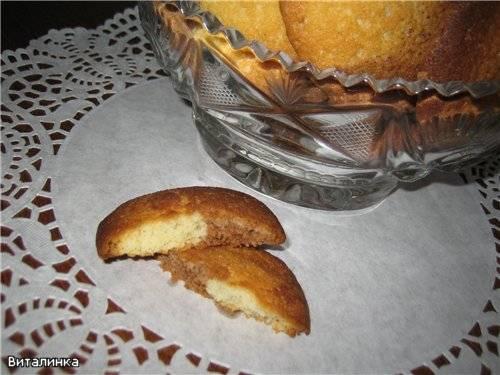 Печенье мраморное