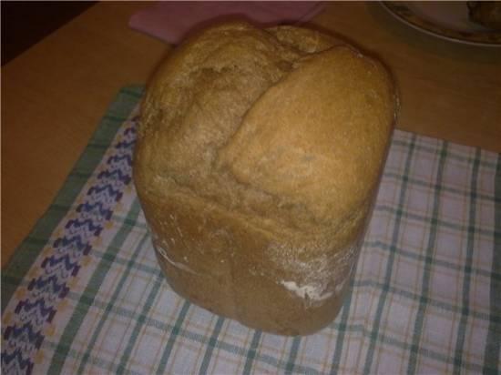 Ржано-пшеничный хлеб из готовой муки