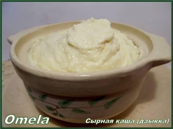 Сырная каша (дзыкка)